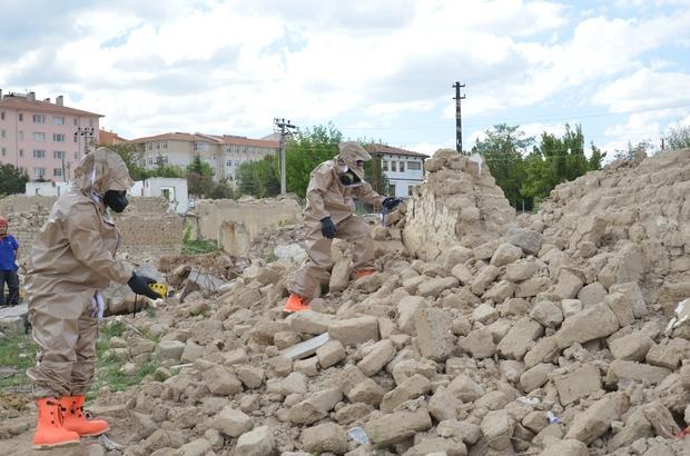 AFAD'dan gerçeğini aratmayan deprem tatbikatı