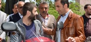 Kaymakamdan Alibeyoğlu'ndan engelli vatandaşa yardım