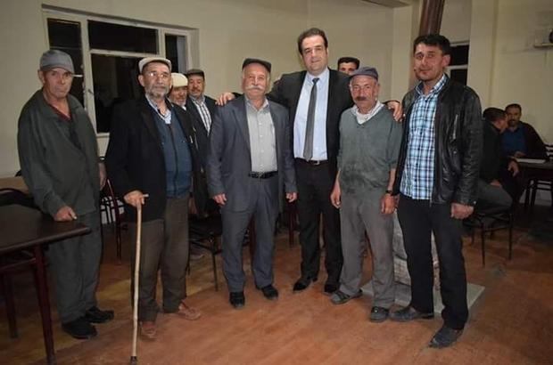 AK Parti Tepebaşı yöneticileri Cumhuriyet Mahallesi'nde