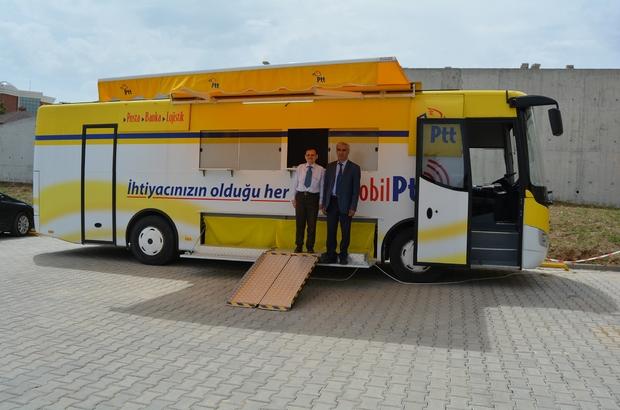 Mobil PTT aracı Bilecik Şeyh Edebali Üniversitesinde hizmet vermeye başladı