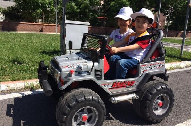 Dulkadiroğlu Belediyesi'nden miniklere trafik eğitimi