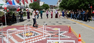 Yurt öğrencileri ve engelli öğrenciler doyasıya eğlendi
