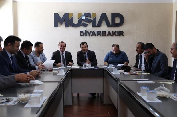 Vergi Dairesi Başkanı Baysal'dan MÜSİAD'a ziyaret