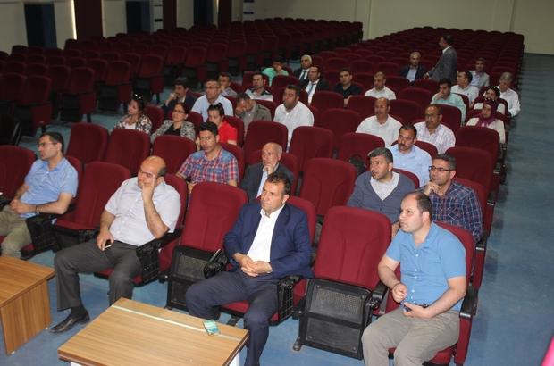 Siverek'te Okul Bazlı Bütçeleme semineri