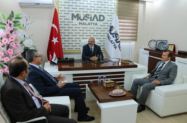 Başkan Poyraz MÜSİAD ziyaretinde 6736 sayılı kanun hakkında bilgi verdi