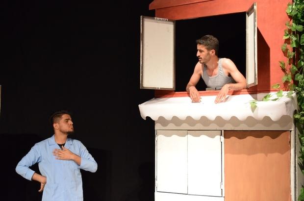 Kayapınar'ın genç tiyatrocuları perde açıyor