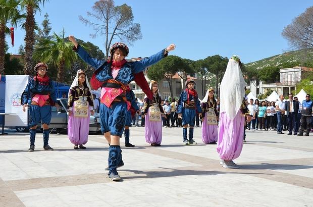 Milas'ta Balık ve Çocuk Oyunları Festivali başladı