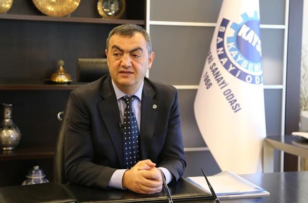 KAYSO  Yönetim Kurulu Başkanı Mehmet Büyüksimitci: