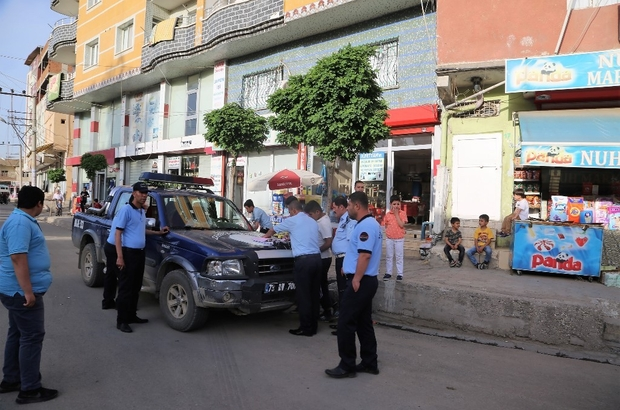 Cizre Belediyesi kaldırım işgaline karşı harekete geçti