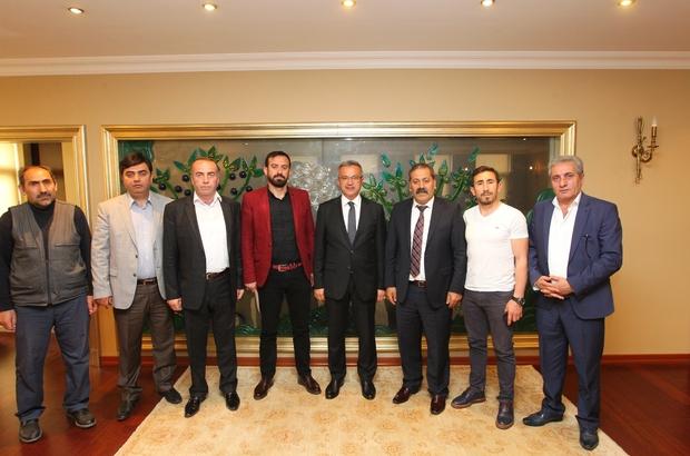 Başkan Köşker, Erzurumlular Derneği ile bir araya geldi