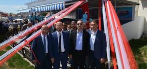 Niksar'da balık pazarının açılışı yapıldı