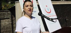 Bartın'da Dünya Hemşireler Günü kutlandı