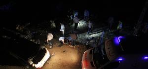 Otomobil istinat duvarından düştü: 2 ölü, 3 yaralı
