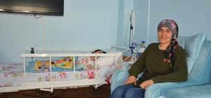 (Özel Haber) Kızı, gözleri önünde eriyen anneye yardım eli