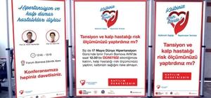 Dünya Hipertansiyon Günü etkinliğinde kalp yaşları hesaplanacak