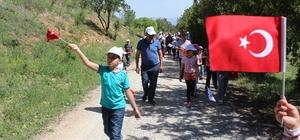 Tabiat Yürüyüşü yapıldı.