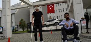 Engellileri empatiyle anlamaya çalıştılar