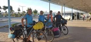 Bisikletçiler Edirne'den Didim'e pedal çevirecek