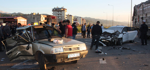 Giresun'da iki otomobil çarpıştı: 1 ölü, 3 yaralı