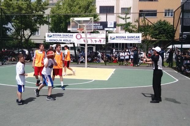 Bayrampaşa'da 3x3 Basketbol Turnuvası start aldı