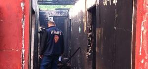 Zonguldak'ta ev yangını: 1 ölü