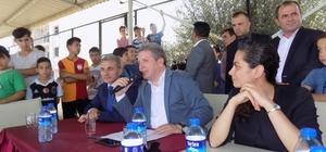 Erdoğan Arıkan, Aydın'da engelliler için maç anlattı