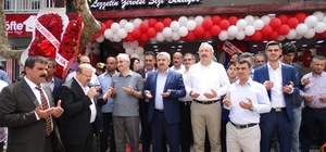 Başkan Baran Şanlıurfa kebabının tadına baktı