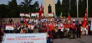13. Uluslararası Yörük Türkmen Şöleni'nde Yörük göçü canlandırıldı