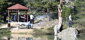 Limni Gölü Tabiat Parkı huzur vadediyor