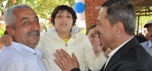 Başkan Uysal'a engelli ailelerinden teşekkür