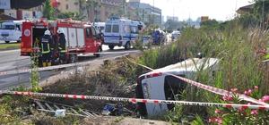 Antalya'da minibüsle motosiklet çarpıştı: 1 ölü