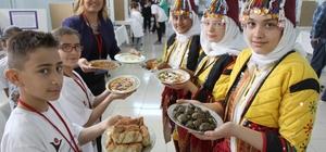 Öğrenciler Amasya yemeklerini tanıttı