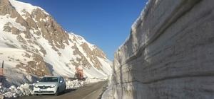 Kar kalınlığı 4 metre!