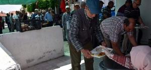 Aliağa'da köy hayırları ve keşkek şenliği