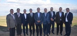 Müsteşar Aka'dan Tatvan'a ziyaret