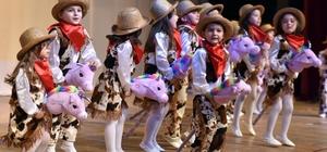 Kepezli miniklerden 7 bölge dansı
