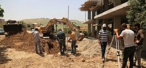 Cizre'nin Dirsekli köyünde alt yapı çalışması