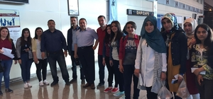 Siverek'li Öğrenciler Çanakkale'ye gönderildi