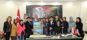 Başkan Sağıroğlu'na 'Özel' ziyaret
