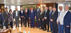 Başkan Ak'tan Muş Belediyesine ziyaret