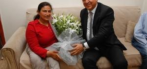 Belediye Başkanı Fadıloğlu'ndan engelli ailelere sürpriz ziyaret