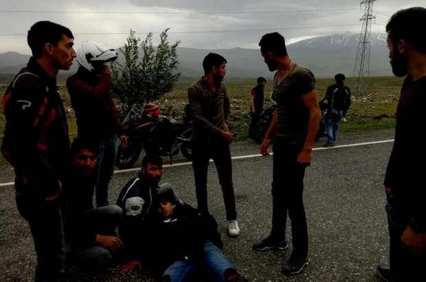 Iğdır'da trafik kazası : 1 yaralı