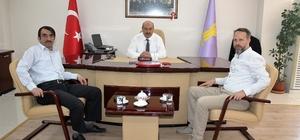 Başkan Konak, Mesleki Eğitim Merkezi yöneticilerini ağırladı
