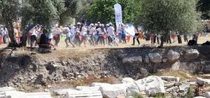 Türkiye'de ilk defa Antik Kentte Olimpik Gün kutlaması