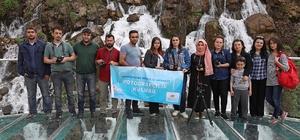 Genç fotoğrafçılar Tomara Şelalesine hayran kaldı