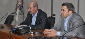ATO Başkanı Baran, Siirt TSO'da tecrübelerini paylaştı