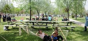 Konyalılar hafta sonları parklara akın ediyor