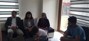 Başkan Yemenici,engellileri ziyaret etti