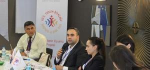 HRÜ Sivil Toplum Diyaloğu, Mültecilerin Uyumu Projesi toplantısına katıldı