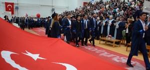 Alaplı MYO'da mezuniyet coşkusu
